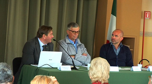 Francesco Corona, Fabio Burigana e Fulvio Saggiomo