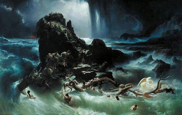 Francis Danby - Il Diluvio