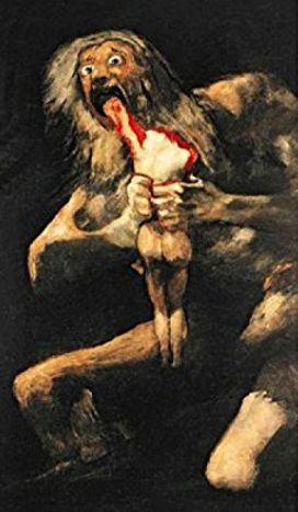 Francisco Goya «Saturno divora suo figlio»
