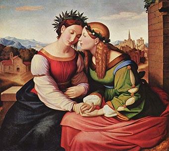 Friedrich Overbeck «Italia e Germania»