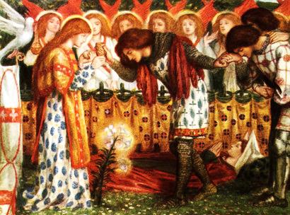 Dante Gabriele Rossetti «Parsifal»
