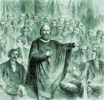 Garibaldi critica il Parlamento di Cavour