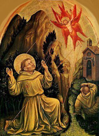 Gentile da Fabriano - Stigmate di San Francesco