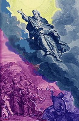 Gerard Hoet «Henoch rapito in cielo»