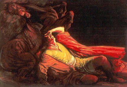 Gianni De Luca  «Saulo sulla via di Damasco»