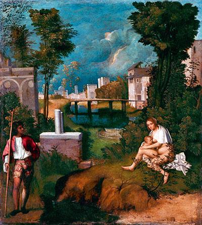 Giorgione «La tempesta»