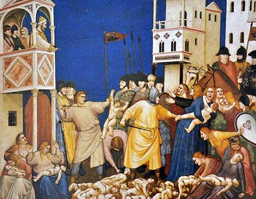 Giotto «La strage degli innocenti»