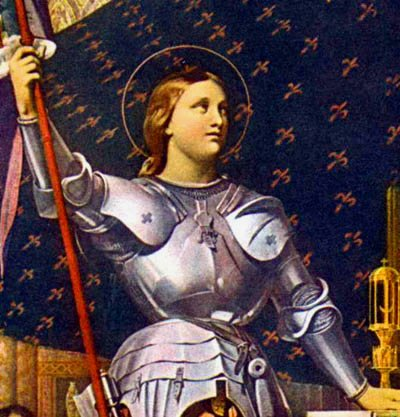 Ingres  «Giovanna d'Arco»