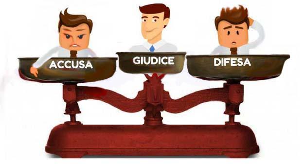 Giudice accusa difesa