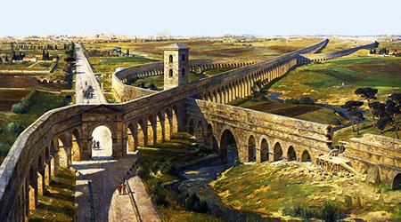 Gli acquedotti dell'antica Roma