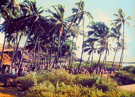 Comunità hippy a Goa