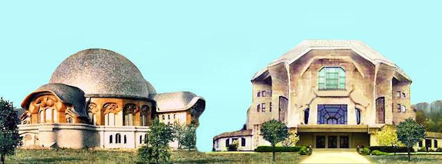 Il primo e il secondo Goetheanum