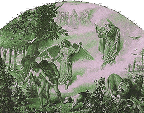 Guido Guidi «La cacciata dal Paradiso terrestre»