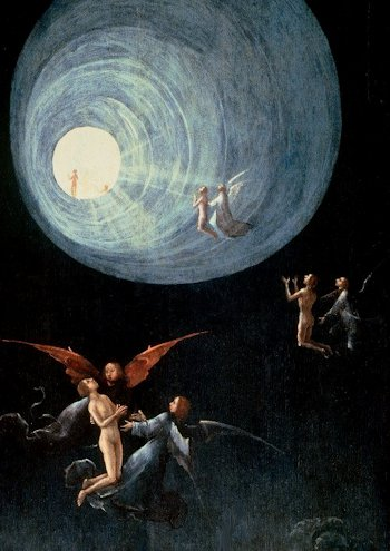 Hieronymus Bosch Ascesa all'Empireo