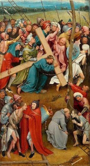 H. Bosch  «Salita al Calvario»