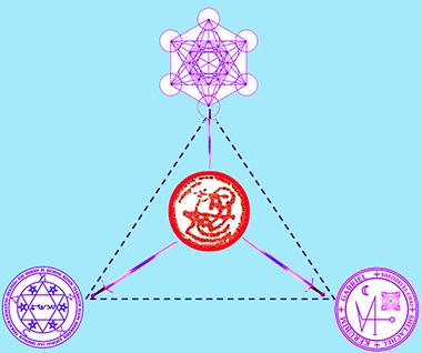 I tre Arcangeli contro il demonio