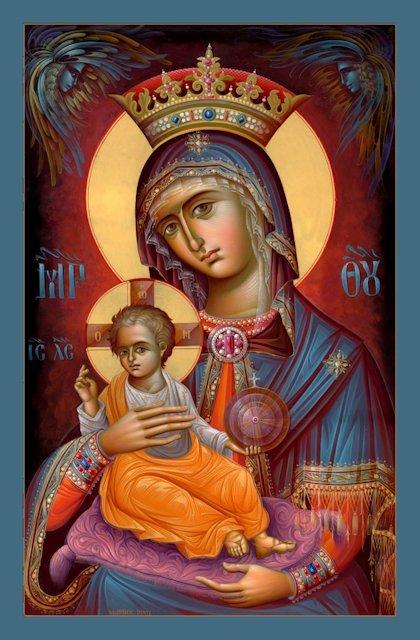 Icona Vergine Sophia