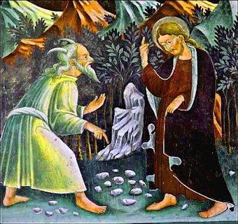 Il Cristo tentato nel deserto