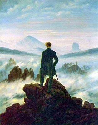 Il Romanticismo tedesco Caspar Friedrich «Il viandante»