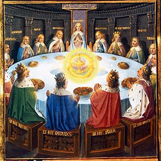 Illustrazione da L'Estoire del Saint Graal
