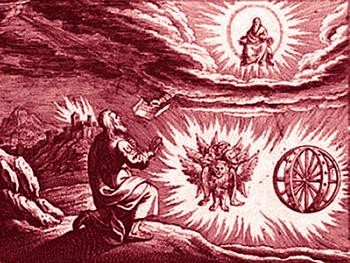 Il carro di fuoco di Ezechiele