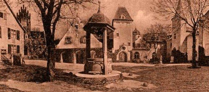 Il castello di Liebenberg, dove visse Botho Sigwart
