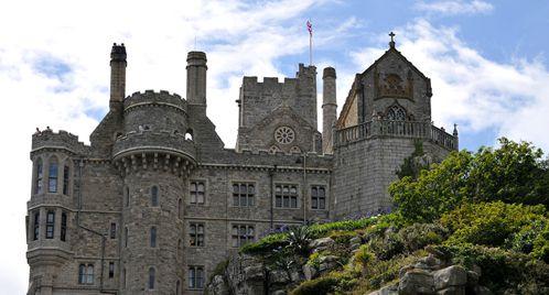 Il castello di St.Michael Mount
