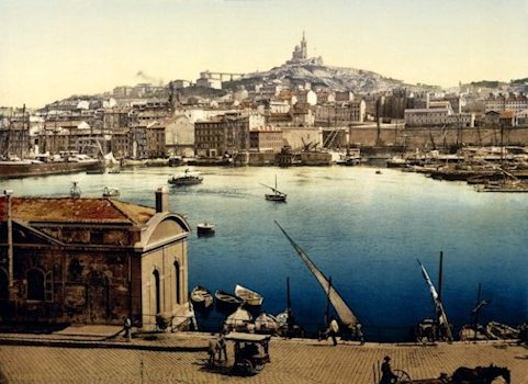 L'antico porto di Marsiglia
