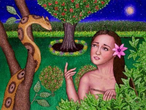 Il serpente ed Eva