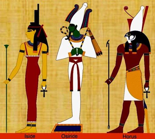 Iside - Oriside - Horus