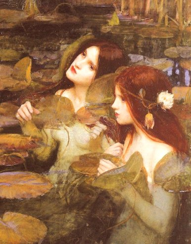 J.W. Waterhouse «Due ninfe»