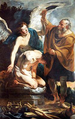 Jacob Jordaens «Il sacrificio di Isacco»