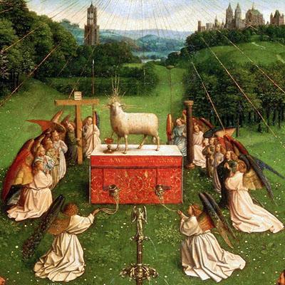 Jan e Hubert van Eyck «Agnello Mistico»