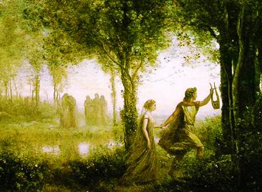Jean-Baptiste Corot «Orfeo ed Euridice»