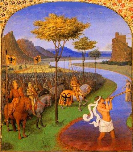 Jean Fouquet «Cesare passa il Rubicone»