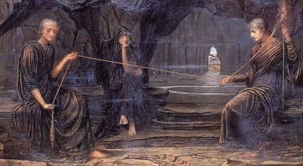 John Strudwick «Le Moire e il filo del destino»