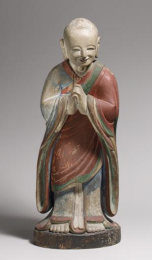 Kashyapa - Statuetta coreana 1700 ca.