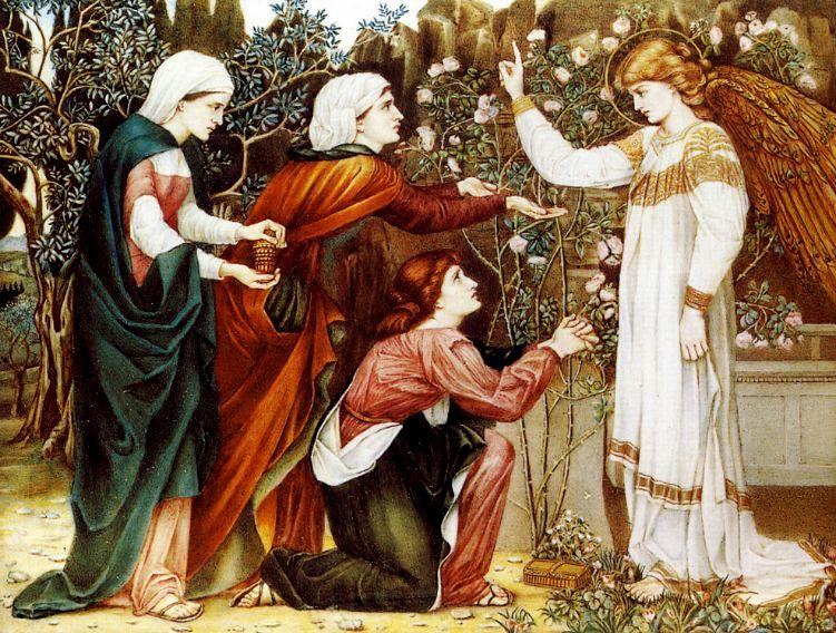 A.C. Lalli «Le tre Marie al sepolcro»