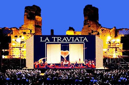 La Traviata a Caracalla