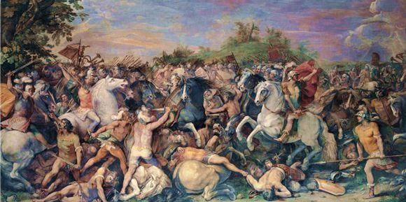 Cavalier d'Arpino «La conquista di Veio»