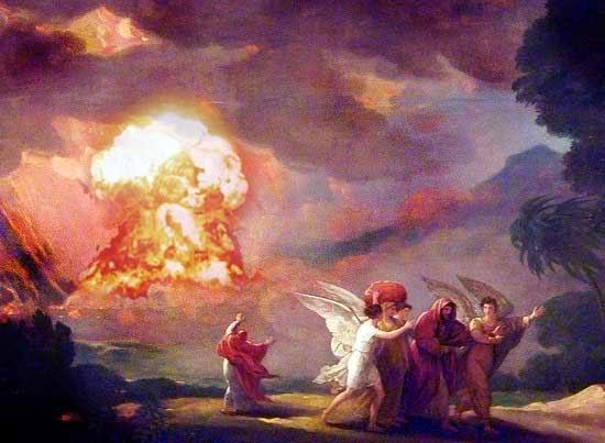 La distruzione di Sodoma e Gomorra