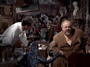 """Paul Newman e Burl Ives nel film """"La gatta sul tetto che scotta"""""""