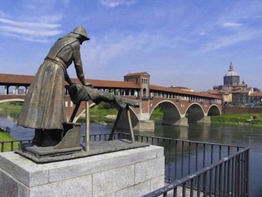 Giovanni Scapolla «La lavandaia di Pavia»