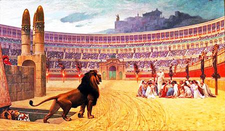 Jean-Léon Gérôme «Persecuzione dei cristiani»