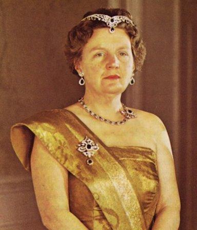 La regina Giuliana d'Olanda
