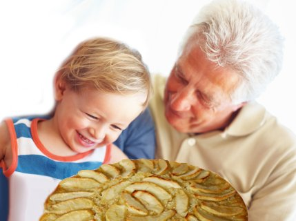 La torta di mele del nonno