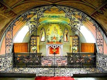 L'altare della cappella