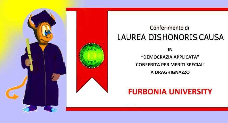 Laurea dishonoris causa