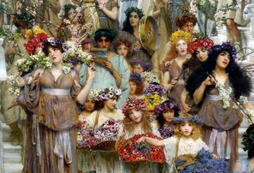 Lawrence Alma-Tadema «Floralia»