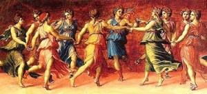 Le Muse danzano con Apollo - Baldassarre Peruzzi